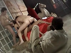 Hungarian babe in italian movie, gangbang anal pain