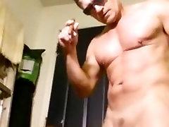 Smoke a cigar nude