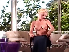 Gorgeous slim blonde stunner analed