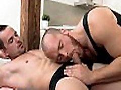 Gripping homo fellatio
