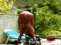 grass hardcore sex with asian hooker