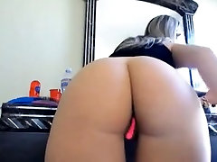 Sexy babe Big round pale ass butt PAWG