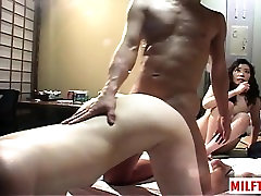 Hot mature sex and swap