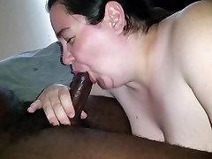 Bbw cuckold wife rides bbc til he nuts MASSIVE LOAD!!!