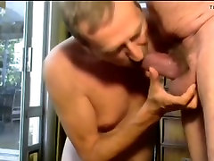 Two mature gay old grandpa fucking each other