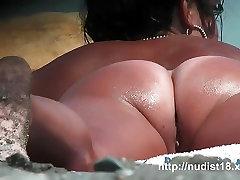Real young beach nudist voyeur video