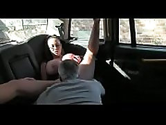Creampie Huge Tits In Taxi