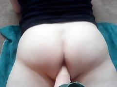 Male anal dildo bubble butt rough deep gay