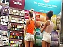 Sexy teens mini shorts
