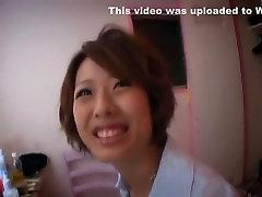 Crazy Japanese slut Akiho Minami in Horny Doggy Style, Creampie JAV video