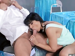 Wife gets Fucked on table at party