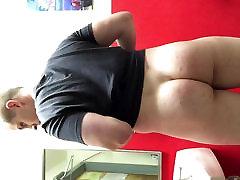 Bubble Butt Fag at Work