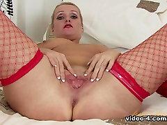 Crazy pornstar in Horny Blonde, Mature sex video