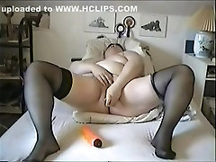 Fabulous Homemade video with Stockings, Masturbation scenes