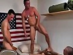 Gay porn movie of male police hot mischievous troops!