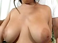 Amazing natural tits licked and fucked 10