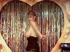 My sharona vintage big tits dance striptease