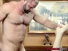 Mormon bear barebacks ass
