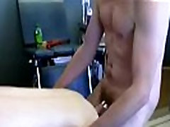 Gay male fisting and guys ass First Time Saline Injection for Caleb