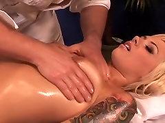 Hottest pornstar Emma Mae in amazing blonde, cheerleaders xxx scene