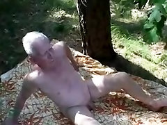 Crazy homemade gay clip with Threesomes, Outdoor scenes