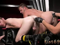 Ass fisting gay boys Seamus O Reilly is stacked on top of B