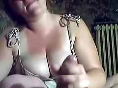 Exotic Amateur video with BBW, Blowjob scenes