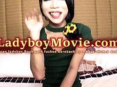 Teen Ladyboy Book Barebacked