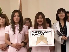 Incredible Japanese chick Jun Mamiya, Juria Tachibana, Maki Takei in Best Big Tits, Group Sex JAV scene