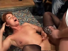 Exotic pornstar in horny fishnet, mature adult movie