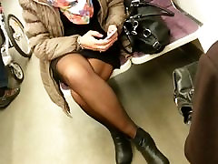 Hot Mature in Pantyhose , with Face 3
