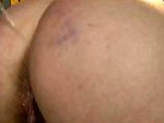 Curvy sub pissed on and fucked by maledom