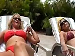 Brianna Ray &amp Kristen Cameron &amp Dee Siren Superb Hot Mature Lesbians Play In Sex Action vi