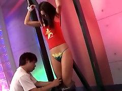 Horny Japanese girl Amiri Kochi in Hottest BDSM, Masturbation JAV scene