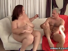 Lady Lynn in Horny Mature Bbw Lady Lynn Gets Fucked Hard - JeffsModels