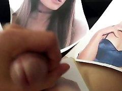 Ariana Grande Cum Tribute 40