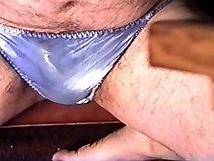 Some old vhs cum in panties