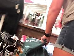 Fat Ass On Blonde College Girl Gap HD 08-31-17