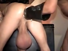 Hottest homemade gay clip with Fetish, BDSM scenes