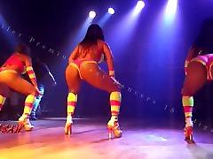 Candid Booty Rabetao Zumba Funk Shake Twerk Sexy Dancers 18