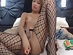 Awesome Tranny Ass Dildo on BasedCams.com