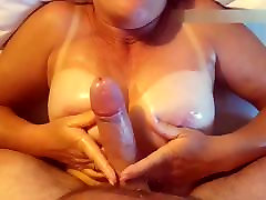 Amateur 50 Plus Year Old Wife Fresh Shaved Pussy & Tit Fuck