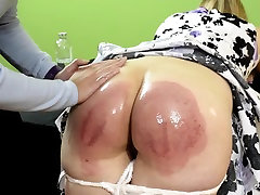 Justice is Served: Caroline and Cheshire - Spanking