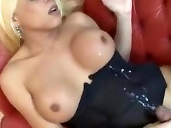 Best Homemade Shemale clip with Big Tits, Blowjob scenes