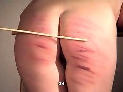 Amazing homemade Spanking, BDSM sex scene