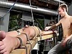 Bondage gay galleries Dean gets tickled, molten paraffin wax poured