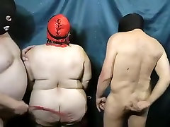 Incredible homemade BDSM, Spanking adult scene