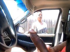 big black dick flashing for neighbor-girl