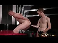 Male videos free fist and boy cums in watching gay porno tube Slim
