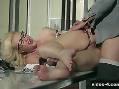 Hottest pornstar Samantha Rone in Horny Secretary, Lingerie porn video